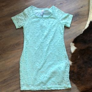 NWT Pink Blush Lace Tunic